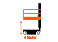 Vertikalmast-Arbeitsbühne SkyJack SJ12 | 6 Meter